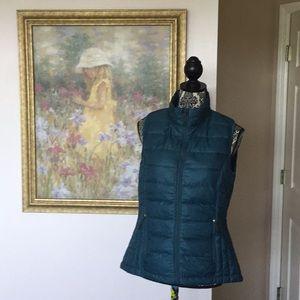 Women's 32 Degree Teal Ultra Light Down Vest (M)